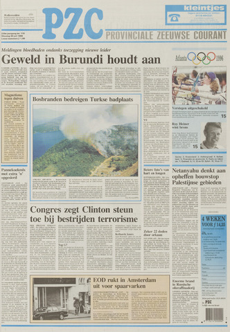 Provinciale Zeeuwse Courant 1996-07-30