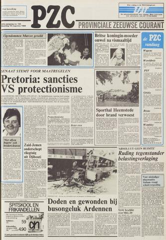 Provinciale Zeeuwse Courant 1986-08-18