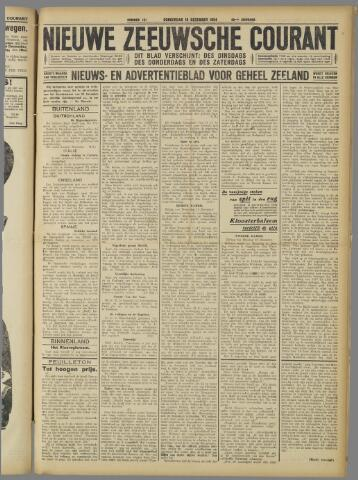 Nieuwe Zeeuwsche Courant 1924-12-18