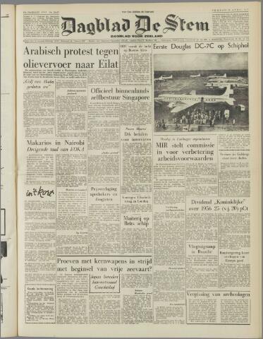de Stem 1957-04-12