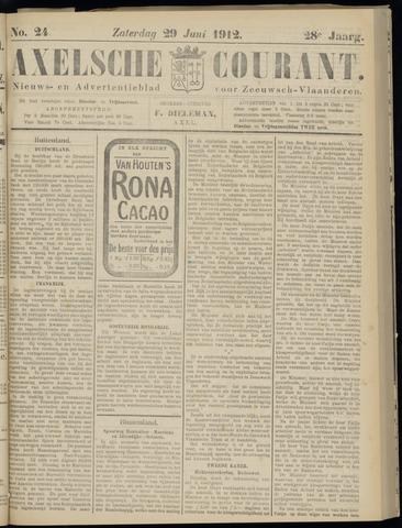 Axelsche Courant 1912-06-29