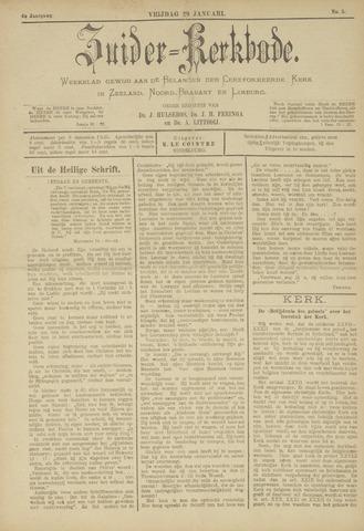 Zuider Kerkbode, Weekblad gewijd aan de belangen der gereformeerde kerken in Zeeland, Noord-Brabant en Limburg. 1897-01-29