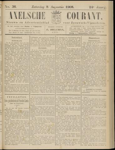 Axelsche Courant 1908-08-08