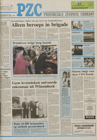 Provinciale Zeeuwse Courant 1991-11-21