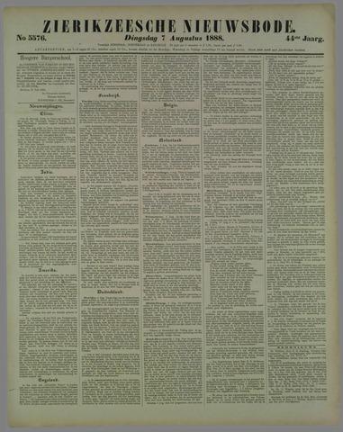Zierikzeesche Nieuwsbode 1888-08-07