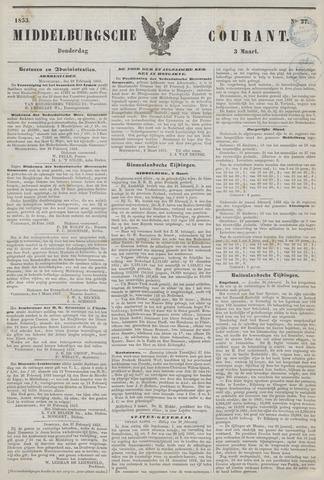 Middelburgsche Courant 1853-03-03