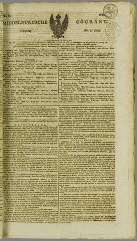 Middelburgsche Courant 1817-06-17