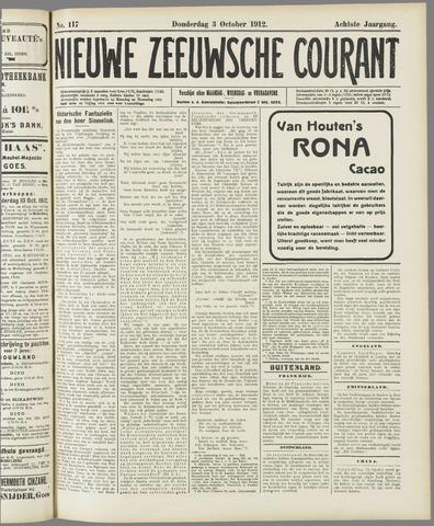 Nieuwe Zeeuwsche Courant 1912-10-03