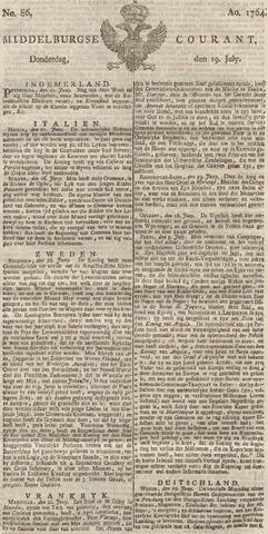 Middelburgsche Courant 1764-07-19