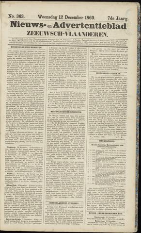 Ter Neuzensche Courant. Algemeen Nieuws- en Advertentieblad voor Zeeuwsch-Vlaanderen / Neuzensche Courant ... (idem) / (Algemeen) nieuws en advertentieblad voor Zeeuwsch-Vlaanderen 1860-12-12