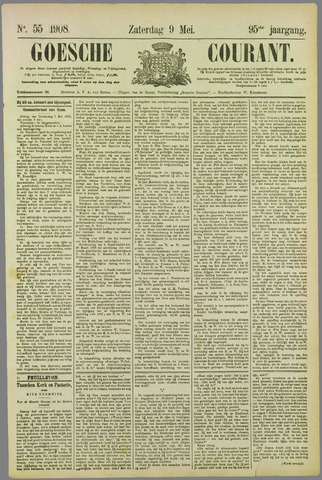 Goessche Courant 1908-05-09