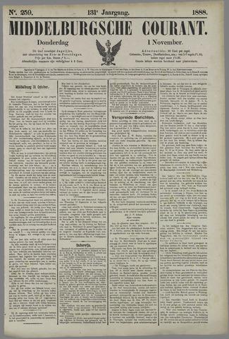 Middelburgsche Courant 1888-11-01