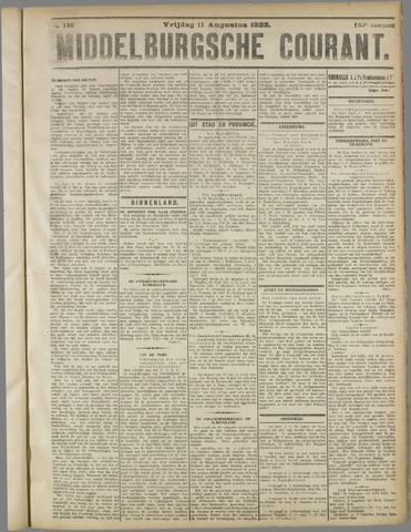 Middelburgsche Courant 1922-08-11