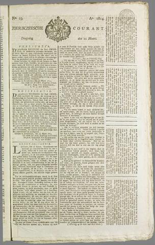 Zierikzeesche Courant 1814-03-22