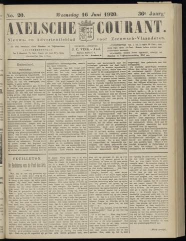 Axelsche Courant 1920-06-16