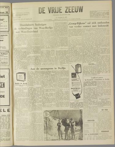 de Vrije Zeeuw 1961-08-16