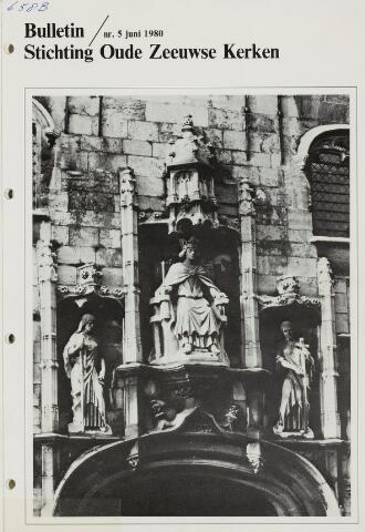Bulletin Stichting Oude Zeeuwse kerken 1980-06-01