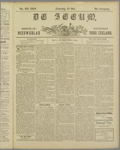 De Zeeuw. Christelijk-historisch nieuwsblad voor Zeeland 1904-05-21