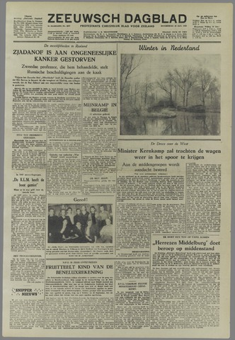 Zeeuwsch Dagblad 1953-01-15
