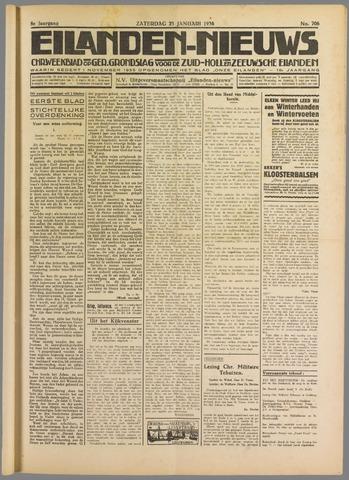 Eilanden-nieuws. Christelijk streekblad op gereformeerde grondslag 1936-01-25