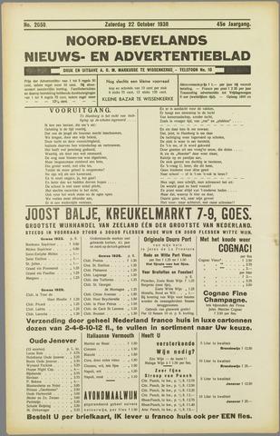 Noord-Bevelands Nieuws- en advertentieblad 1938-10-22