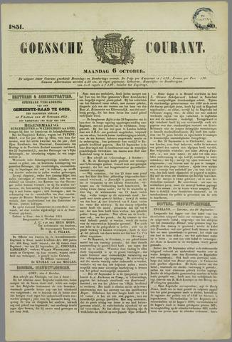 Goessche Courant 1851-10-06