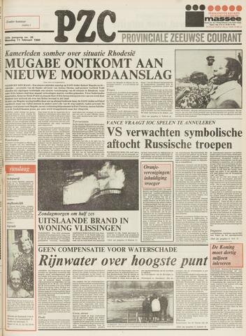 Provinciale Zeeuwse Courant 1980-02-11