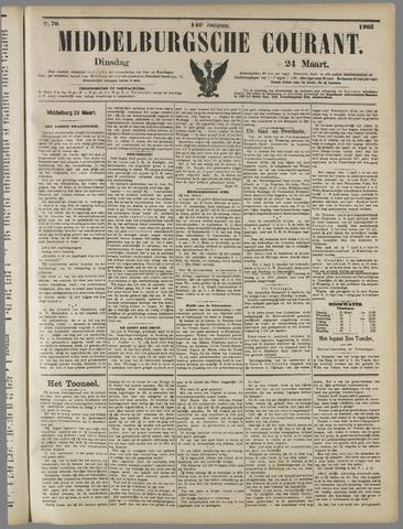 Middelburgsche Courant 1903-03-24