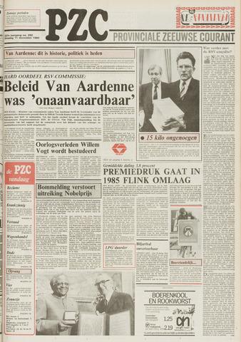 Provinciale Zeeuwse Courant 1984-12-11