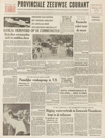 Provinciale Zeeuwse Courant 1965-10-05