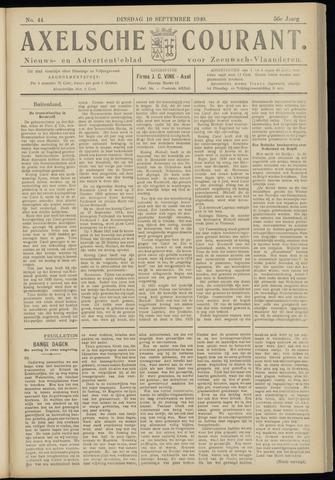 Axelsche Courant 1940-09-10