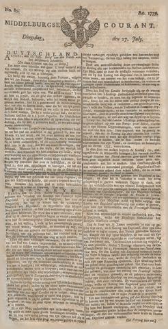 Middelburgsche Courant 1779-07-27