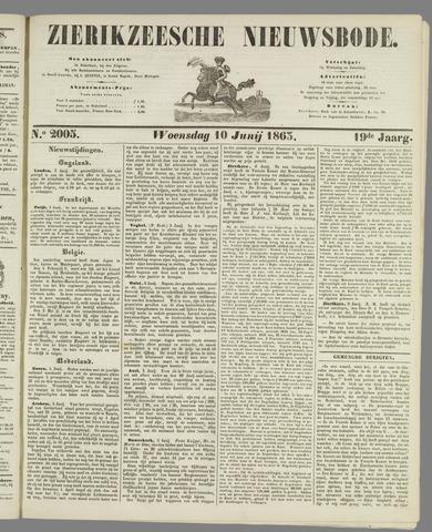 Zierikzeesche Nieuwsbode 1863-06-10
