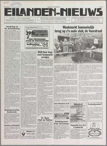 Eilanden-nieuws. Christelijk streekblad op gereformeerde grondslag 1995-11-03