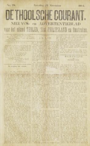 Ierseksche en Thoolsche Courant 1884-11-22