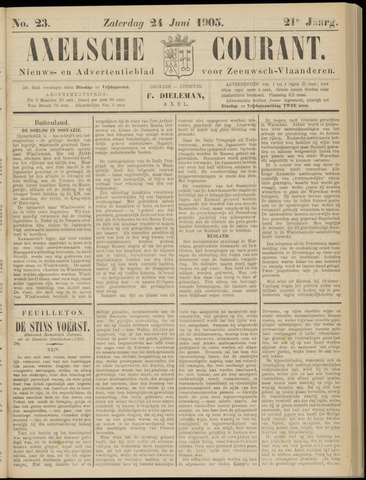 Axelsche Courant 1905-06-24
