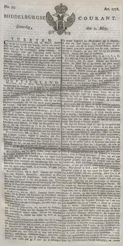 Middelburgsche Courant 1778-05-02