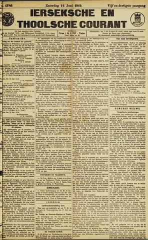 Ierseksche en Thoolsche Courant 1919-06-14