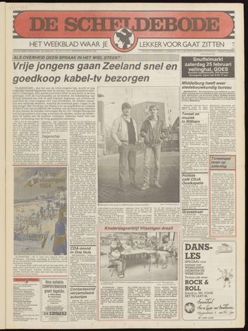 Scheldebode 1984-02-22