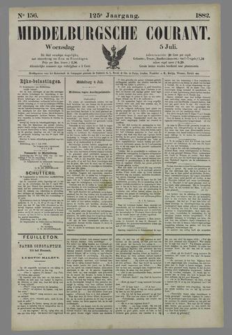Middelburgsche Courant 1882-07-05