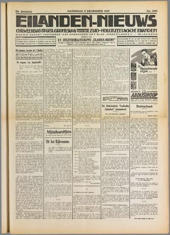 Eilanden-nieuws. Christelijk streekblad op gereformeerde grondslag 1939-12-09
