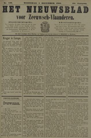 Nieuwsblad voor Zeeuwsch-Vlaanderen 1900-12-05