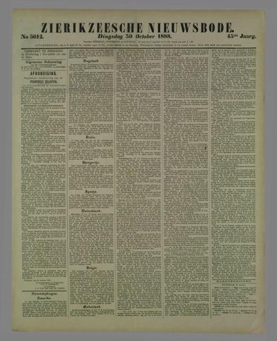 Zierikzeesche Nieuwsbode 1888-10-30