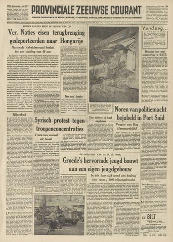Provinciale Zeeuwse Courant 1956-11-22