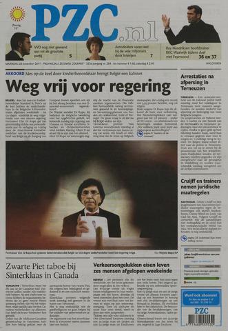 Provinciale Zeeuwse Courant 2011-11-28