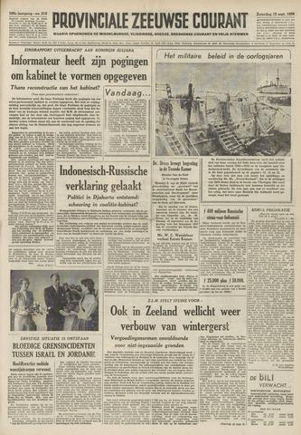 Provinciale Zeeuwse Courant 1956-09-15