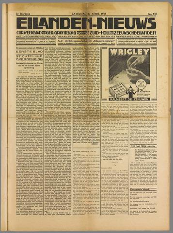 Eilanden-nieuws. Christelijk streekblad op gereformeerde grondslag 1935-04-27