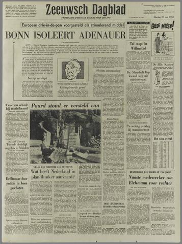 Zeeuwsch Dagblad 1962-06-19