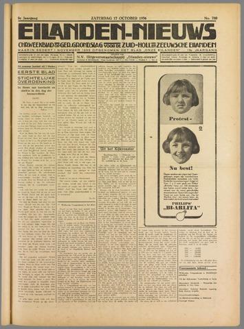 Eilanden-nieuws. Christelijk streekblad op gereformeerde grondslag 1936-10-17
