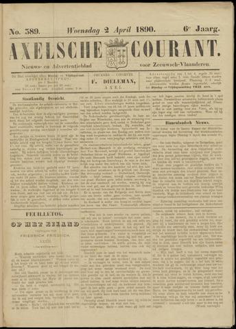 Axelsche Courant 1890-04-02